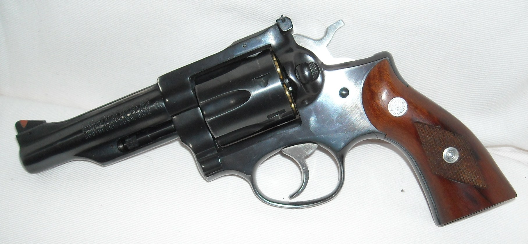This is an image of a revolver
