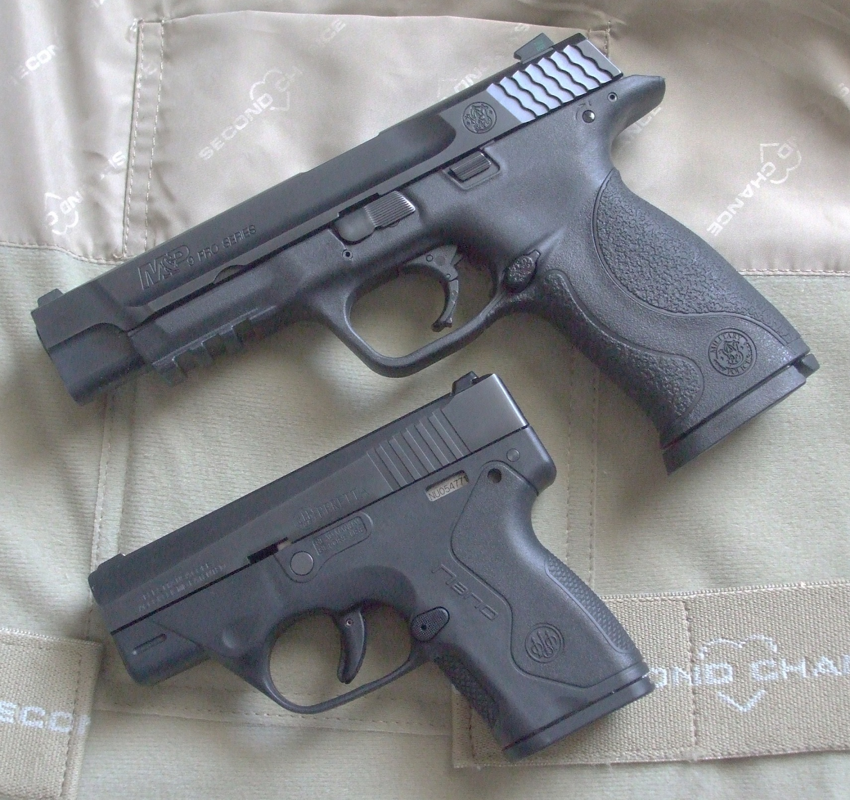 Safe, reliable pistols without manual safeties abound. One less thing to go wrong! Photo: author
