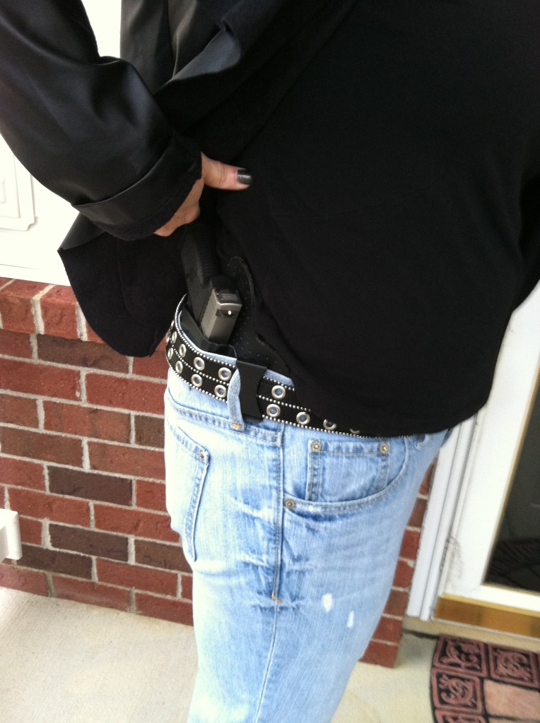 IWB with jacket. Completely concealed. Photo: author