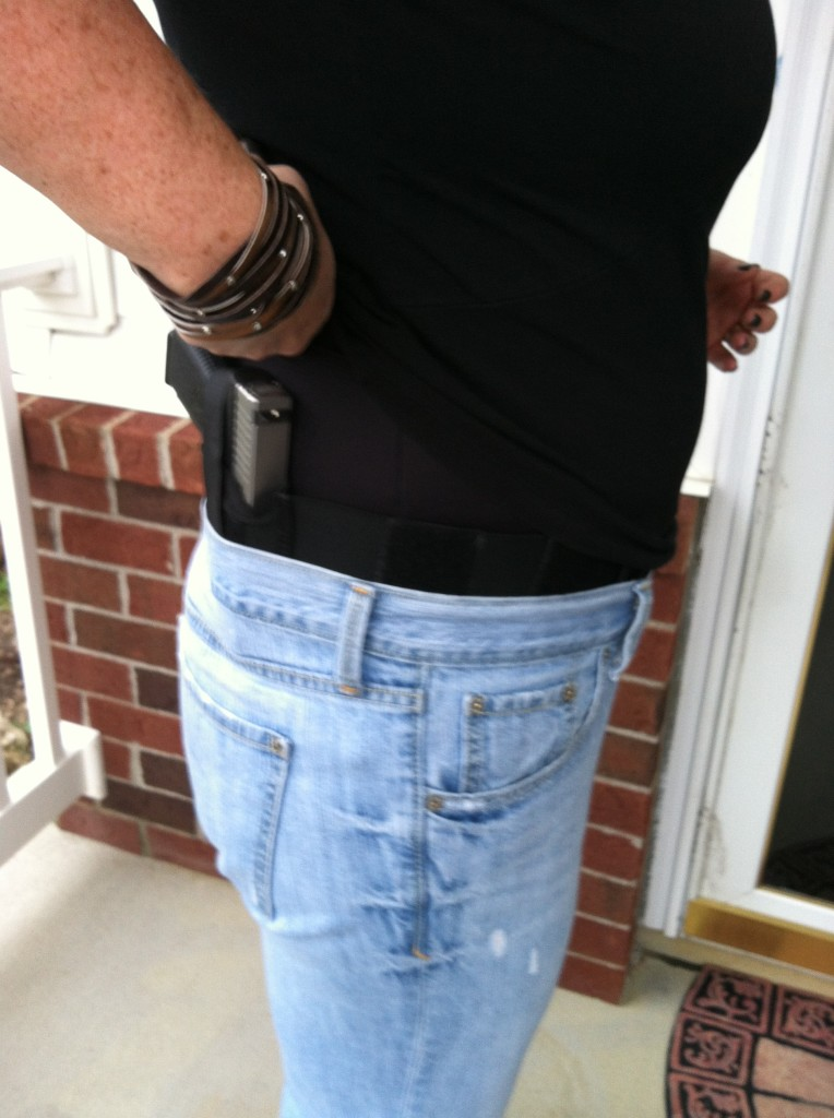 Belly band is great with almost any clothing option, and very comfortable. Photo: author