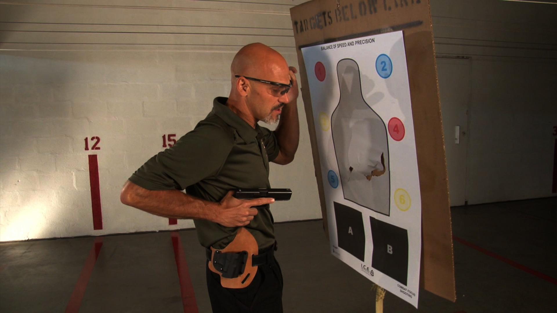 close quarters shooting