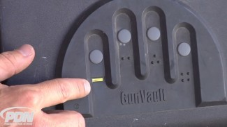 GunVault's Biometric Lock