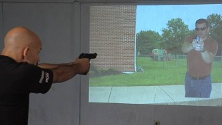 Training with a Virtual Target System