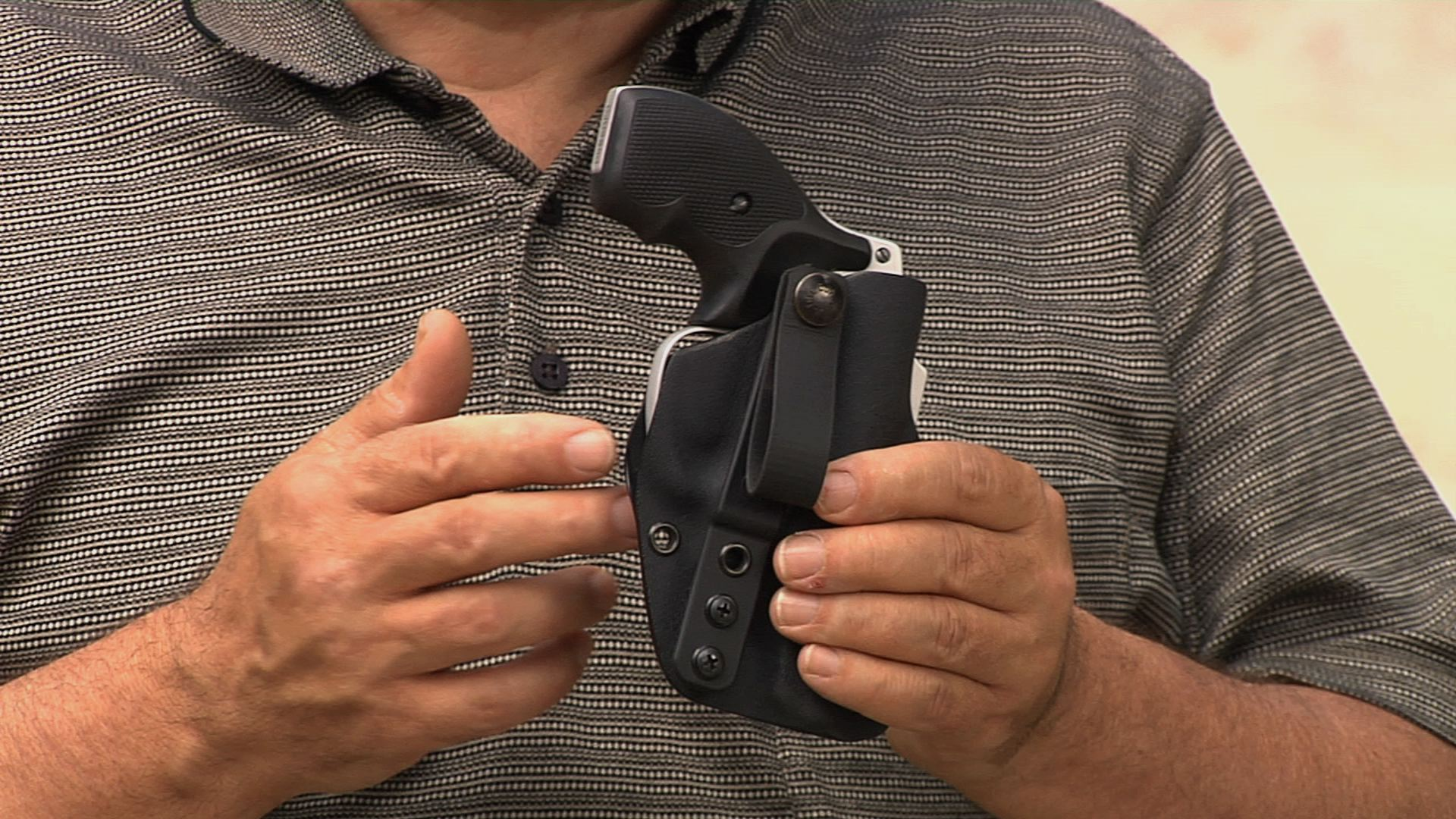 Self-Defense Products: Innovative Appendix Carry Holster