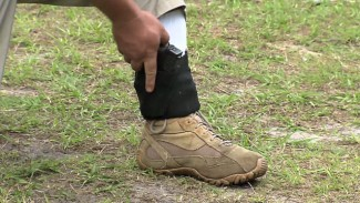 Ankle Holster Concealed Carry Option