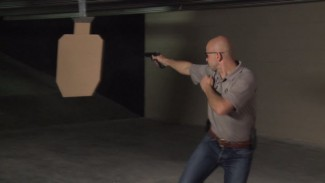 Defensive Shooting in Motion Training Drill