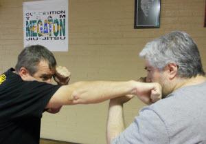 closed-fist-strike