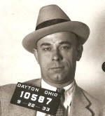 "Author's department was one of several that arrested John Dillinger during his ""career."" Photo courtesy Dayton, Ohio PD."