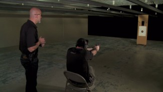 Presenting and Shooting From A Seated Position