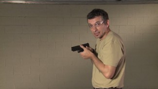 High Compressed Ready Position for Handgun Retention