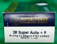 """Be sure what you are buying. The .38 Super cartridge is for a semi-auto handgun, not the .38 revolver many people think of when they hear """".38."""""""