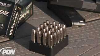 A Firearms Training Performance Test with Liberty Ammunition Civil Defense Rounds