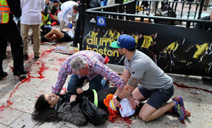 Boston attack injured