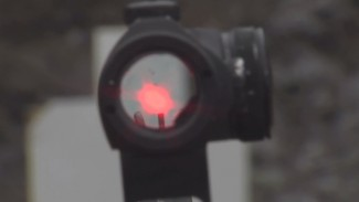 Using Red Dot Optic as Rear Sight