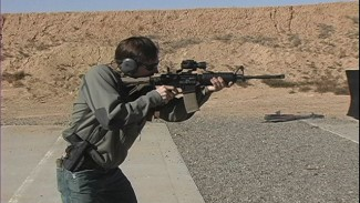AR Rifle Training with a Sling