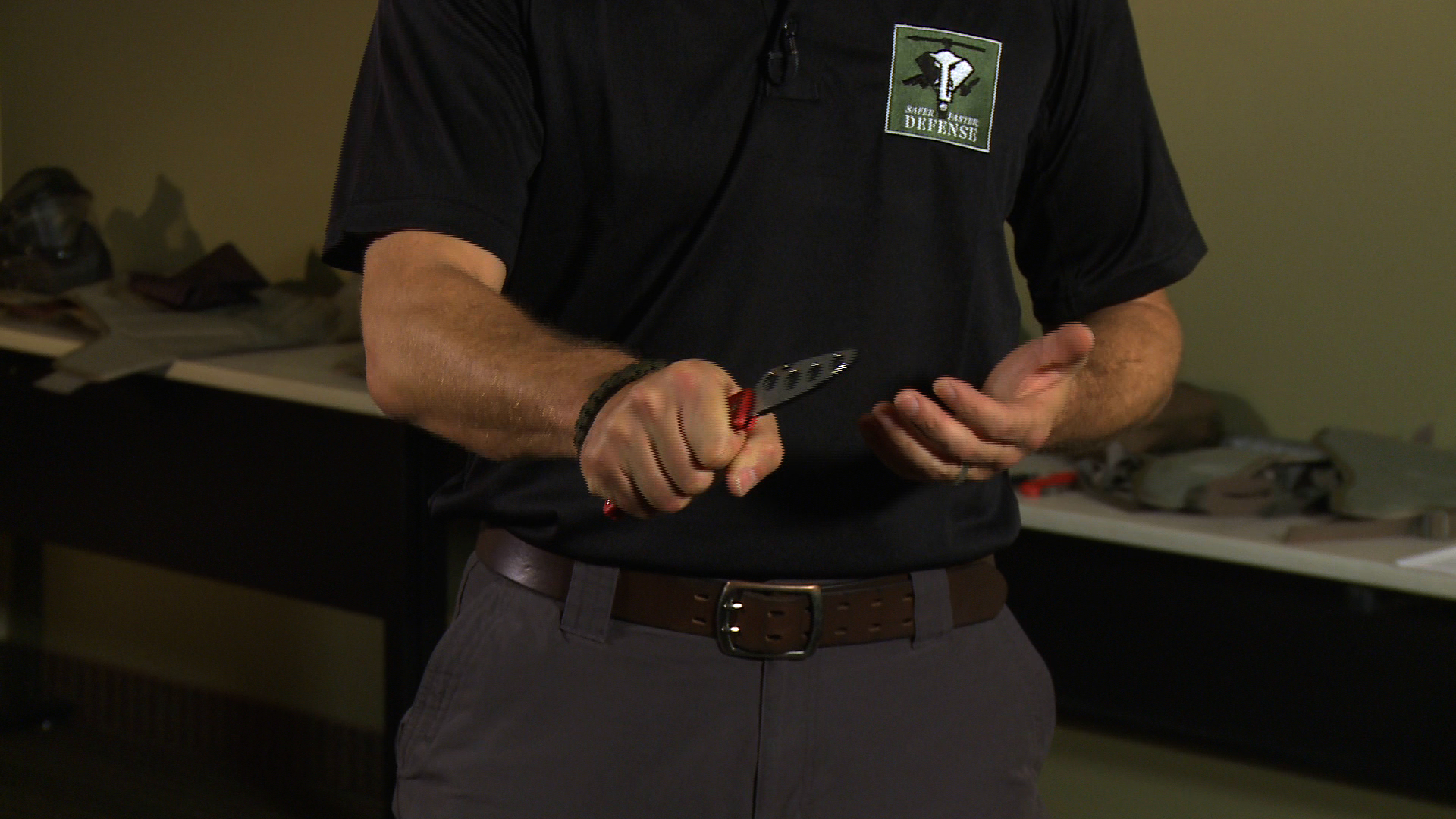 Grip and Stance with a Knife