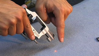 Side Mounted Laser Sight for Revolvers