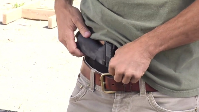 Part 3  Firearms & CrossBreed Holsters for Appendix Carry