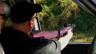 Handgun Shooting Tips for Lefties Shooting from a Vehicle