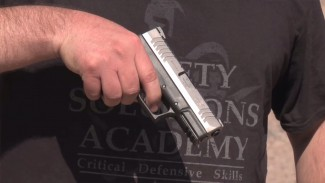 Proper Handgun Grip When Using a Defensive Handgun