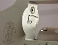 The most common cause of excess movement is a worn latch pin hole.