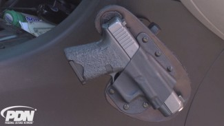 CrossBreed's RAM Mount In-Car Holster