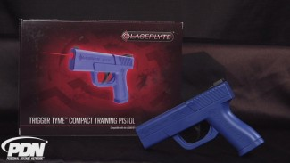 LaserLyte Trigger Tyme Compact Training Pistol