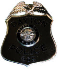 dayton police badge 125