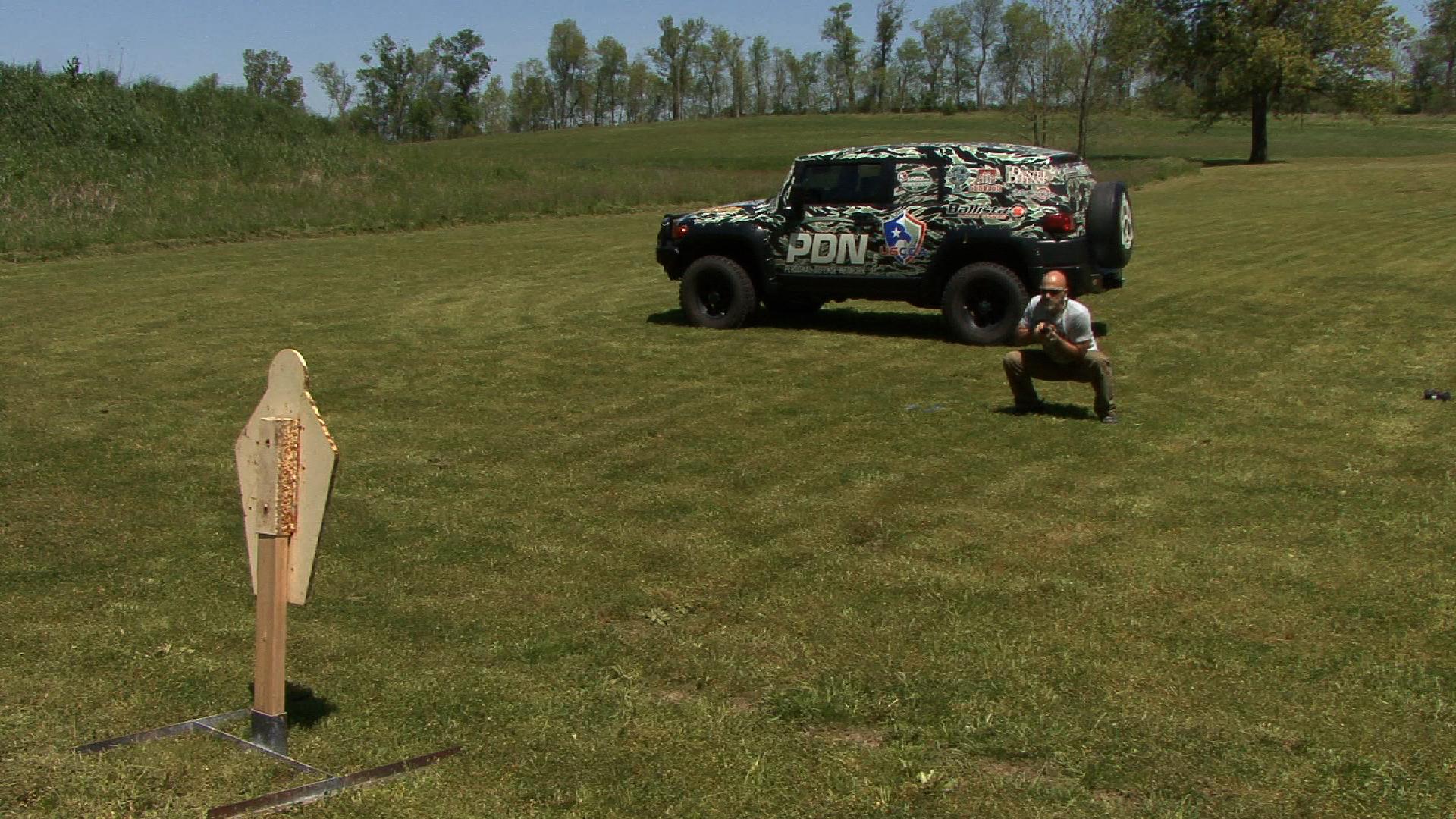 Fitshot Air Squats for Handgun Training