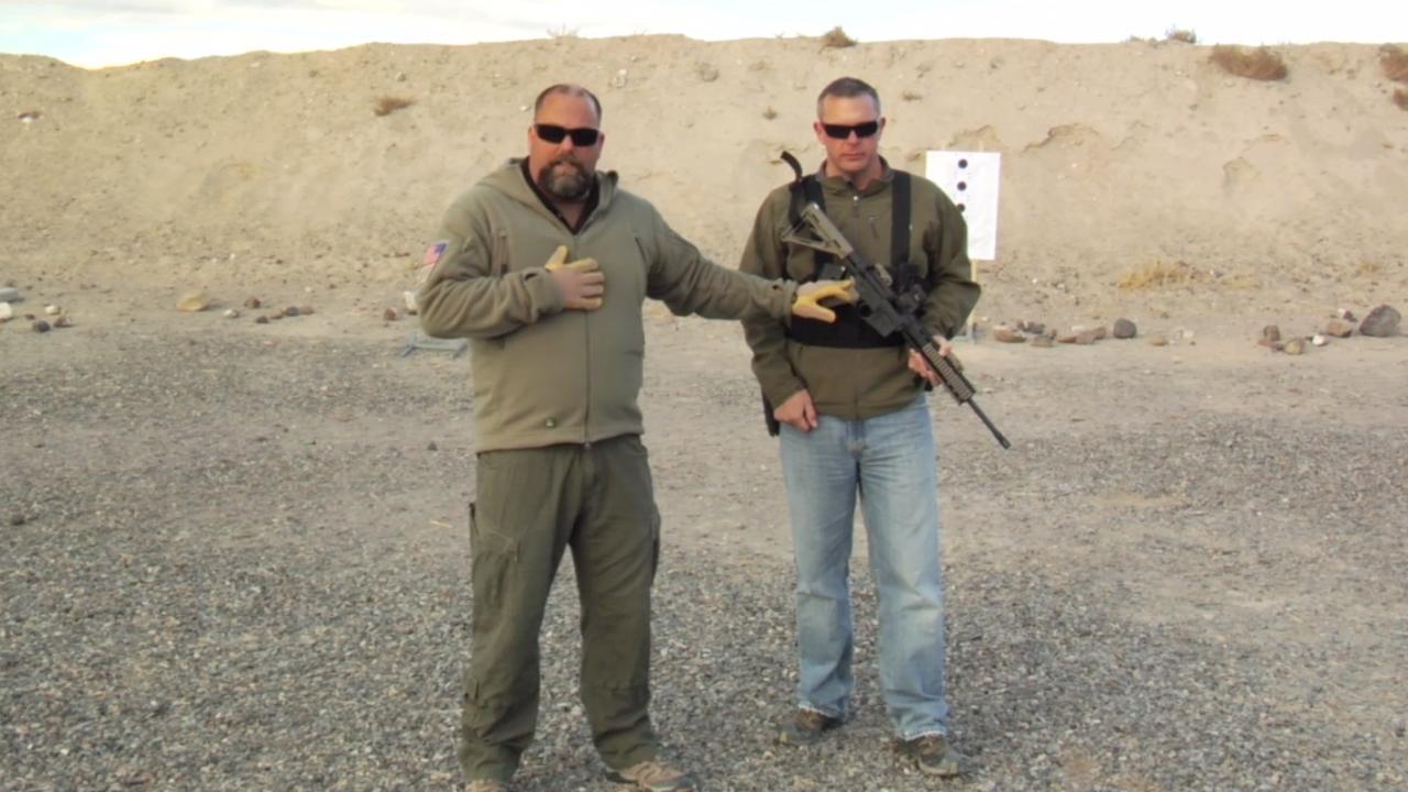 Rifle Training with a .22 Caliber Long Gun