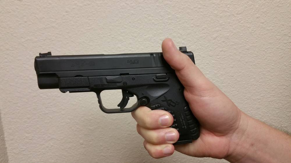 defensive handgun A