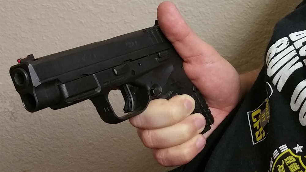 defensive handgun B