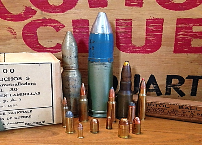 ammunition caliber
