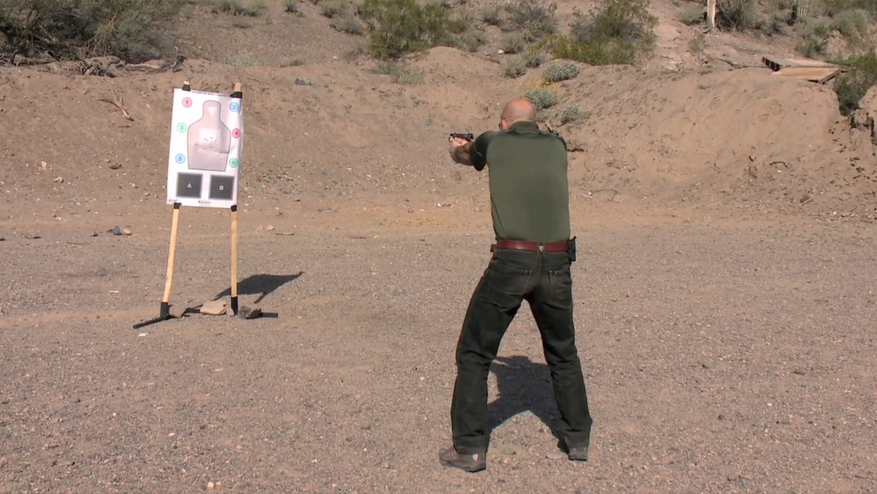 Gun Shooting Drill - Slide Lock Reloads - Tactical Gun Training