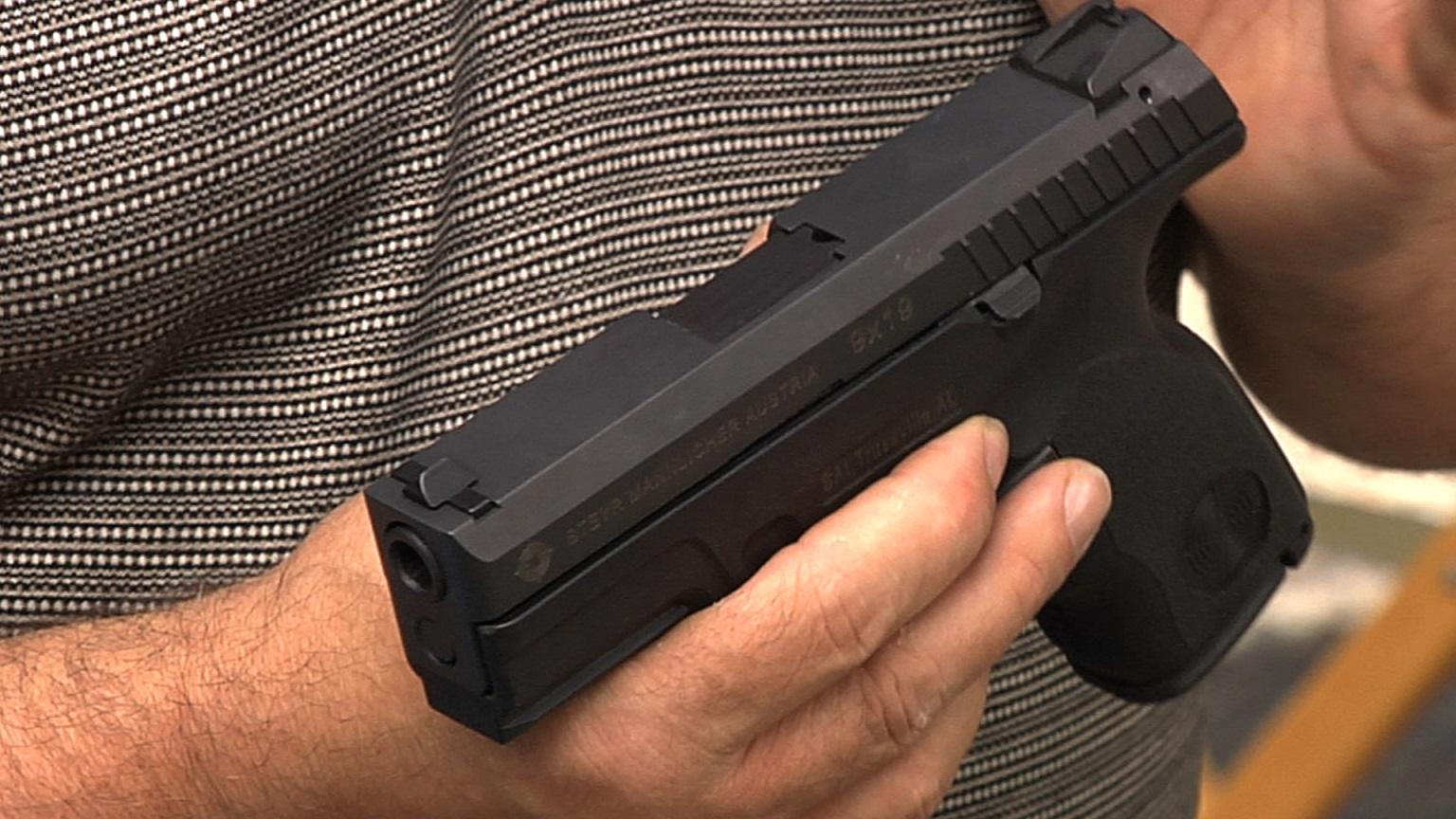 Firearms Training to Learn to Break in a Handgun