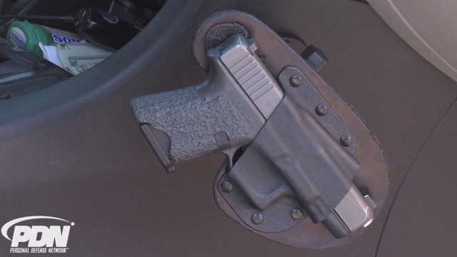 Self-Defense Gear: Holster for the Car