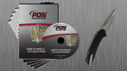 PDN K5029Q Hand to Hand Defense 5-DVD + Kershaw Knife