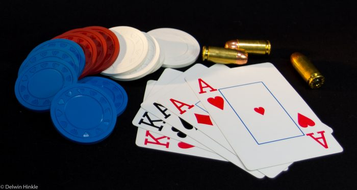 Personal defense is very similar to a poker game. You can win with luck alone, but having a plan and being prepared increase your odds significantly. Photo: author