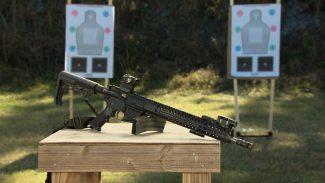 CMMG MK4 rifle
