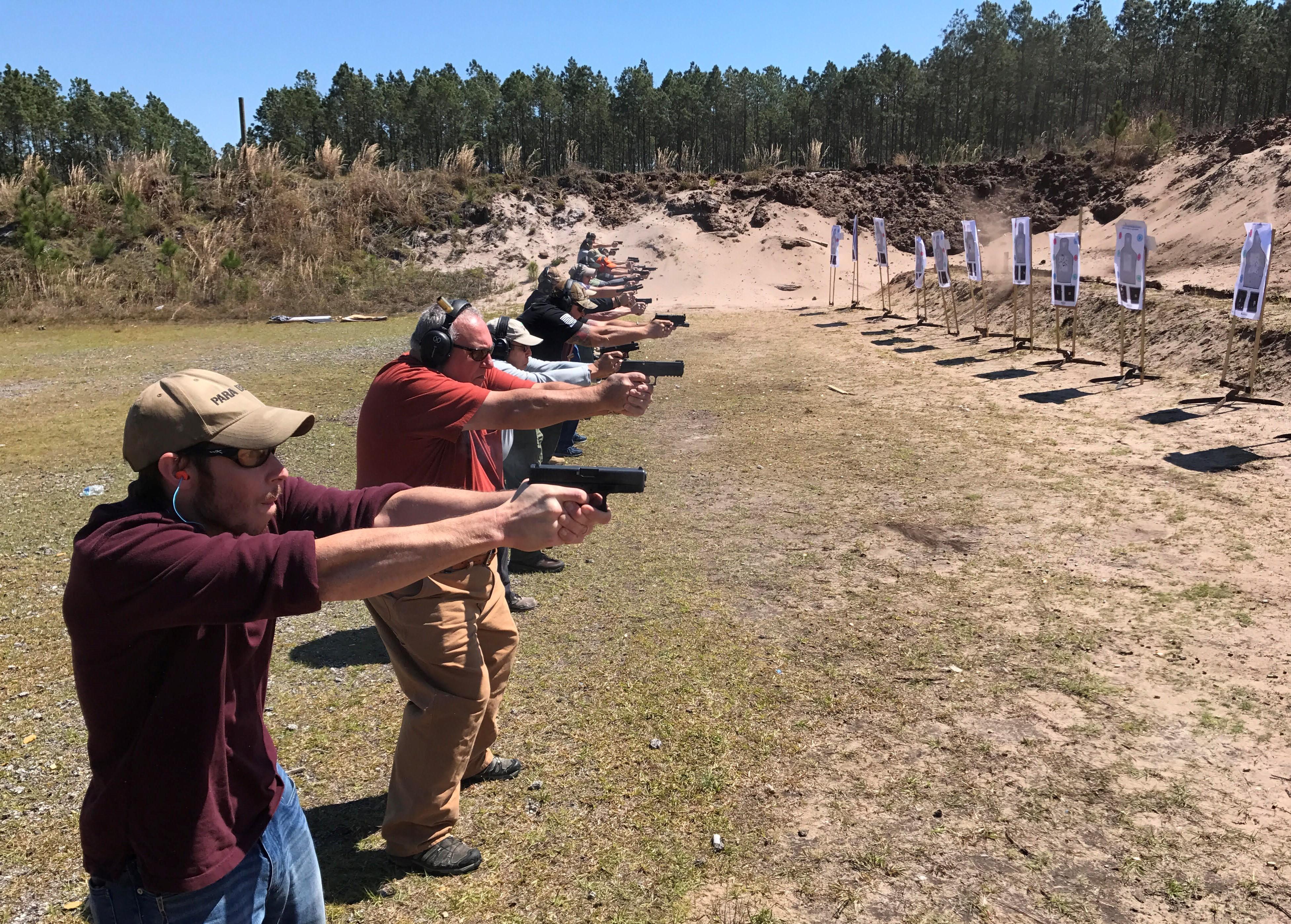 pdn training tour firing line