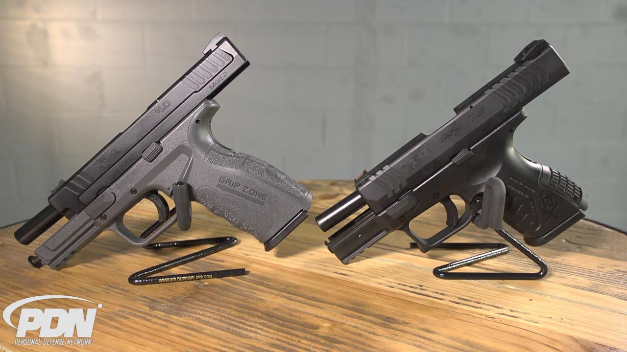 Comparing the Springfield XD Mod 2 and XD(M)