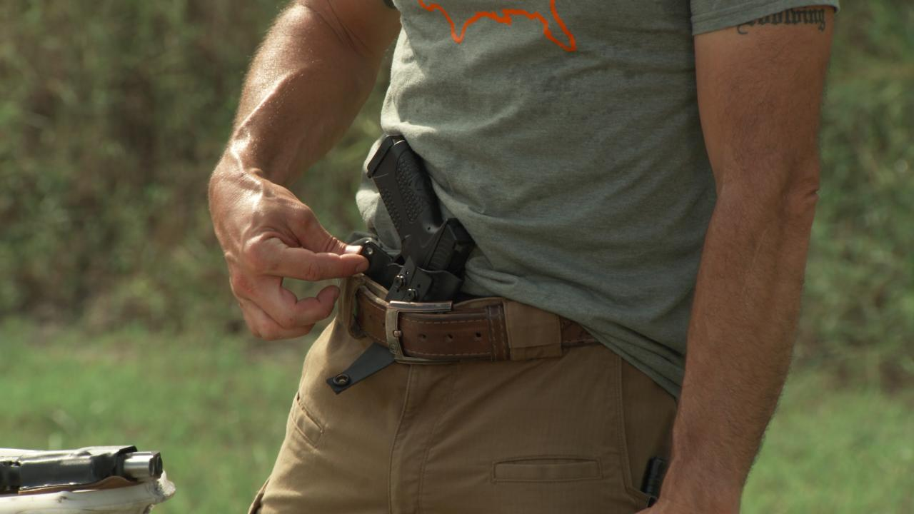Appendix Concealed Carry Holster for Different Body Types