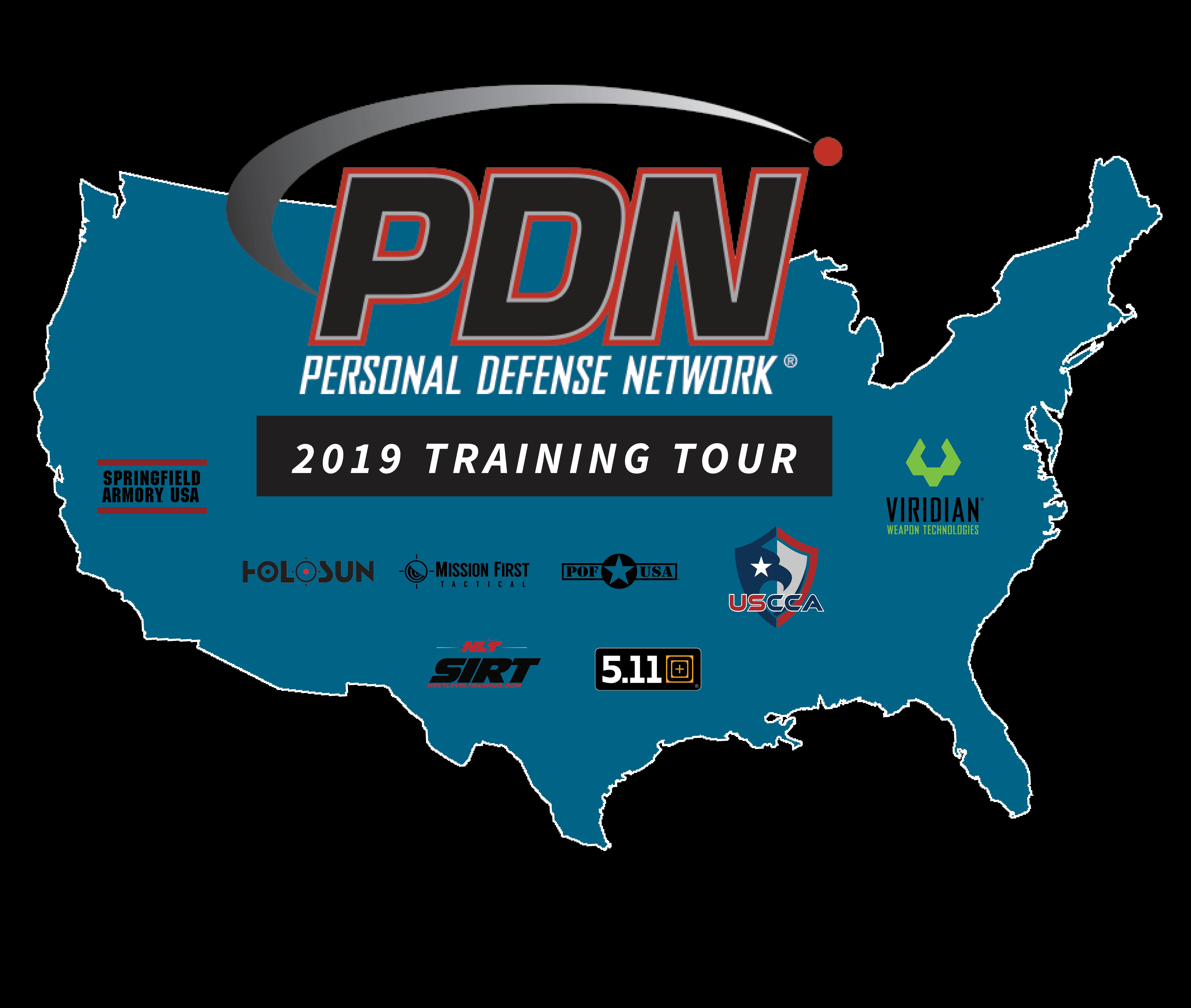 PDN Training Tour Sponsors