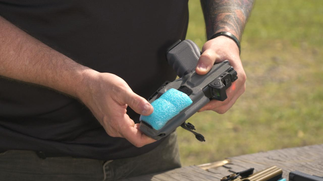 Make an Appendix-Carry Holster More Comfortable and Concealable