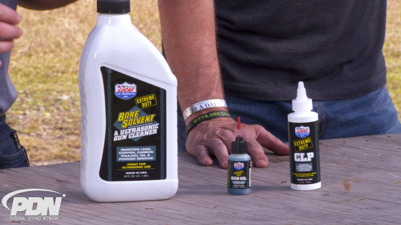 Lucas Oil Gun Products