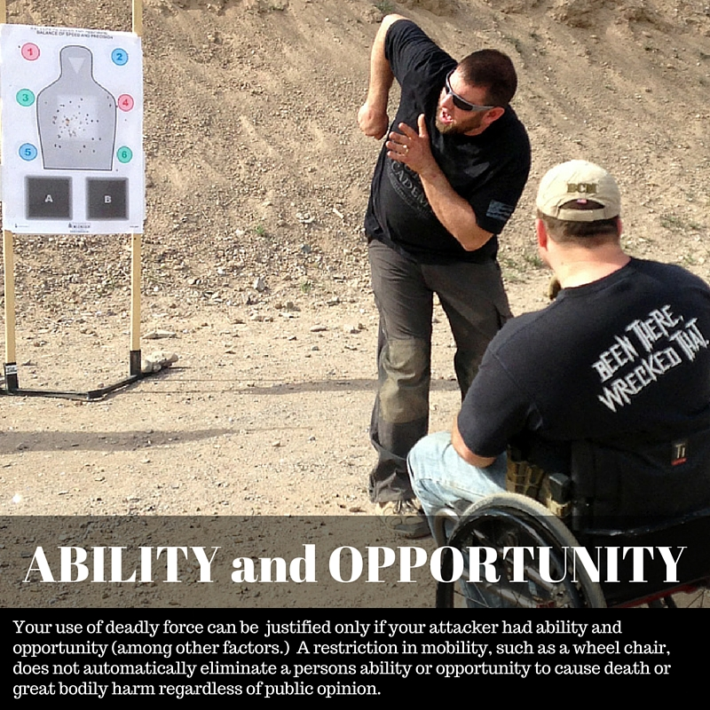 Ability and Opportunity