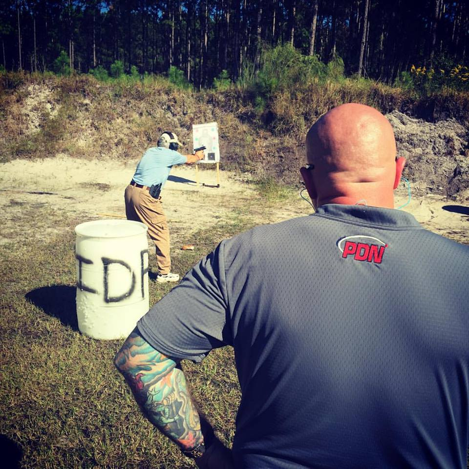 firearms range training
