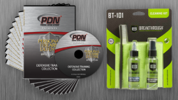 PDN K5041Q Defensive Training Collection + FREE Gun Cleaning Kit