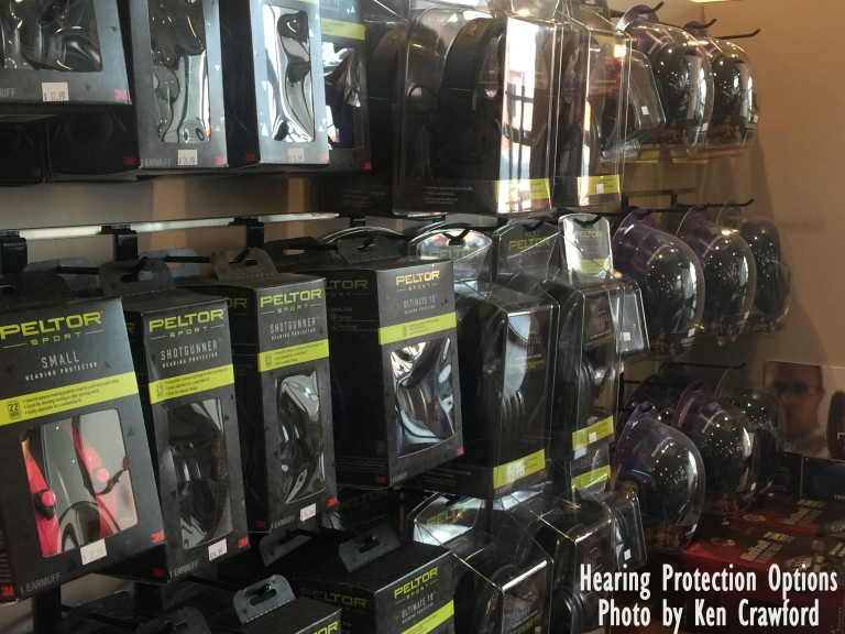Hearing protection Options
