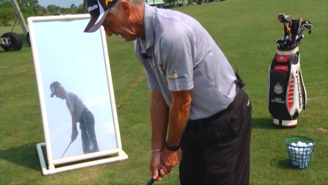 Improve Golf Swing Posture With Simple Drills Pga Digital